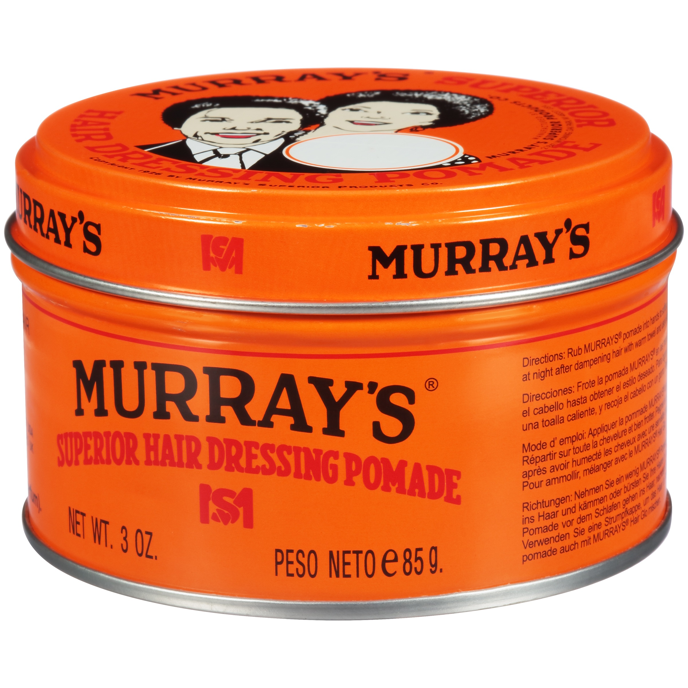 Murray s Superior Hair Dressing Pomade 52ef5c5693