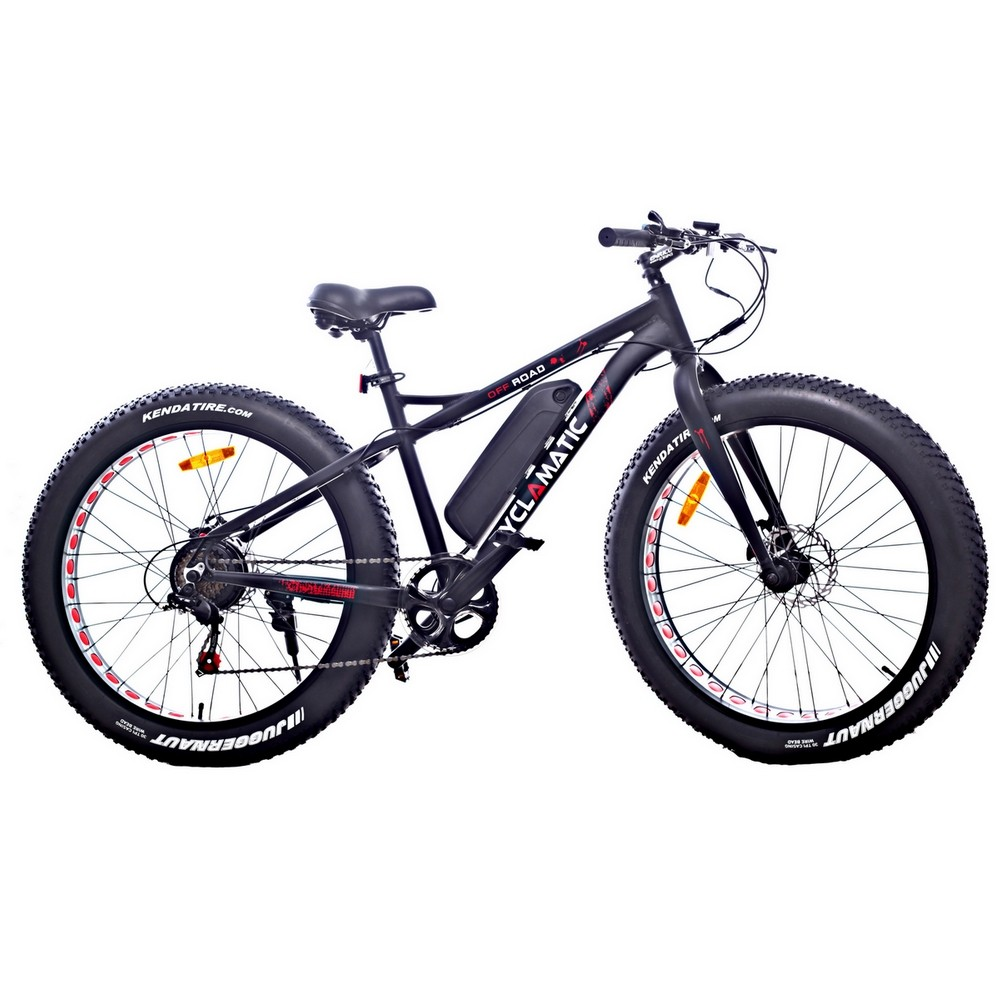 Cyclamatic Fat Tire Electric Mountain Bike   eBike by