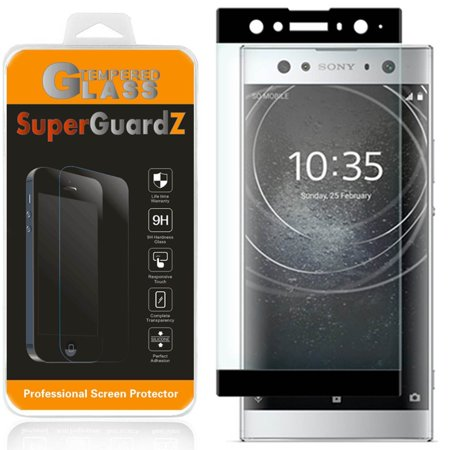 For Sony Xperia XA2 Ultra - SuperGuardZ Full Cover Tempered Glass Screen Protector, Edge-To-Edge, 9H, Anti-Scratch, Anti-Bubble, Anti-Fingerprint (Sony Xperia Z Screen Protector)