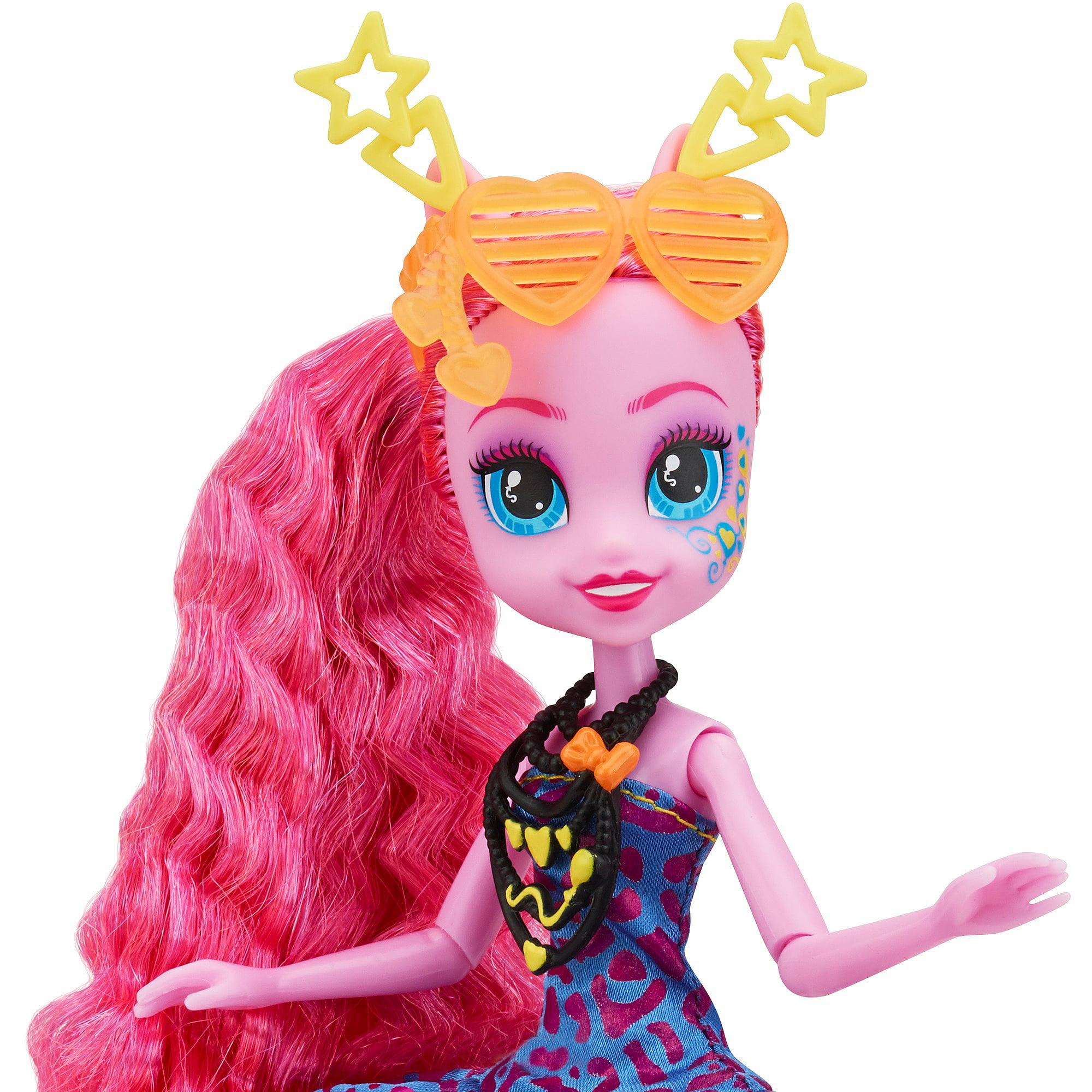 My Little Pony Equestria Girls Rainbow Rocks Pinkie Pie Doll - Rockin hairstyles dolls