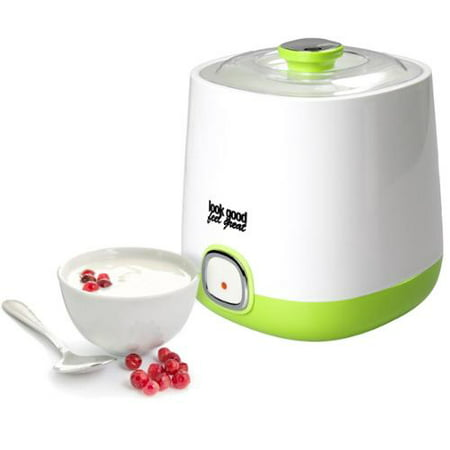 Look Good Feel Great YM-6/2393 Yogurt Maker with Storage