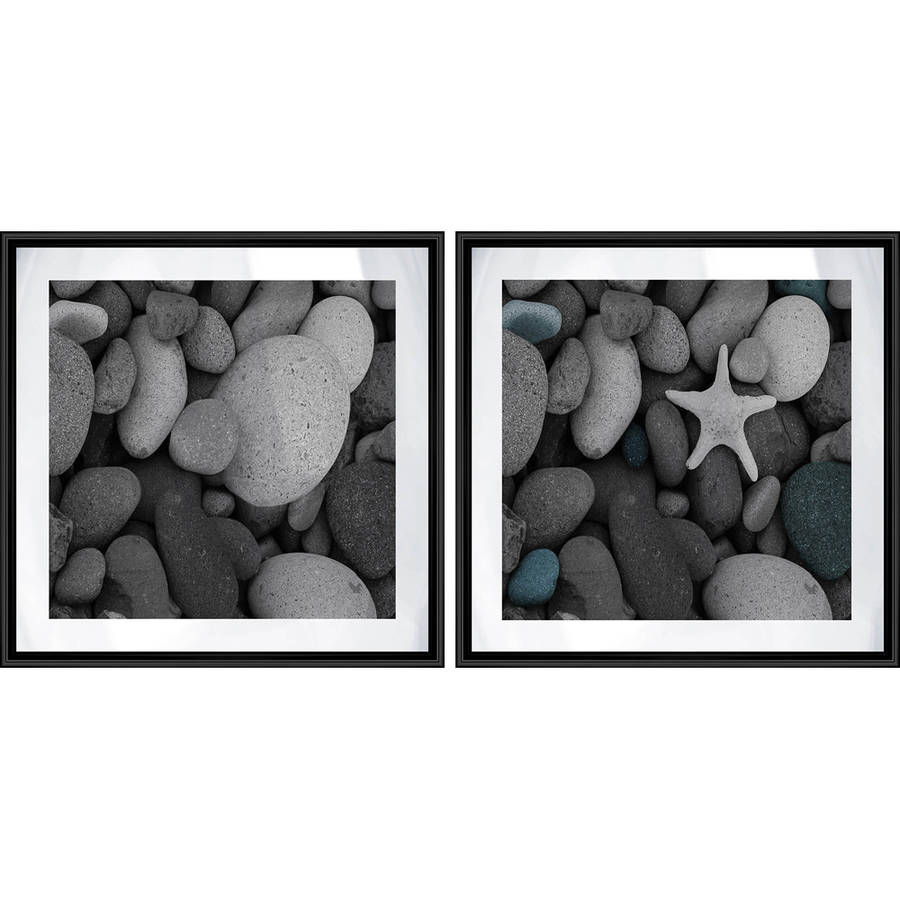 "Starfish Wall Art, 17.125"" x 17.125"", Set of 2"
