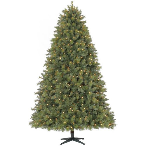 Dyno Seasonal Solutions 7.5' Green Pine Artificial Christmas Tree with 750 Single colored lights