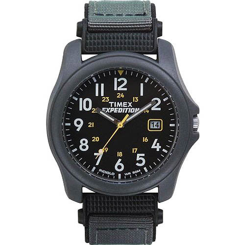 Timex Men's Expedition Camper Watch, Gray Nylon Strap
