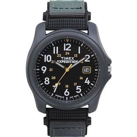 Timex Mens Expedition Camper Watch  Gray Nylon Strap
