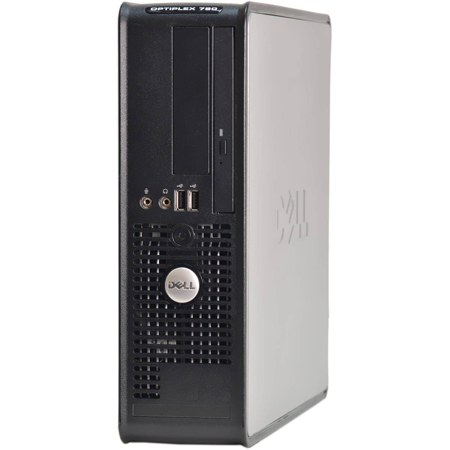 Refurbished Dell 780 Small Form Factor Desktop PC with Intel Core 2 Duo Processor, 6GB Memory, 1TB Hard Drive and Windows 10 Pro (Monitor Not Included)