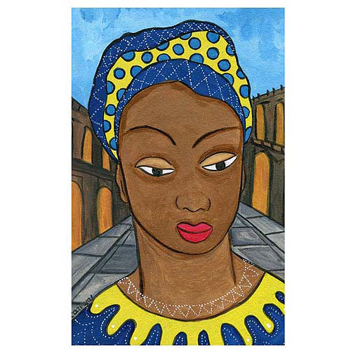 "Trademark Fine Art ""Mulata"" Canvas Art"