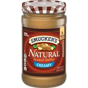 Smucker's Natural Creamy Peanut Butter, 26-Ounce