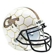 Georgia Tech Yellow Jackets Schutt Mini Helmet - Honeycomb Alternative