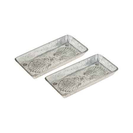 Novell Tray Antique Silver Trays