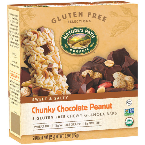 Nature's Path Peanut Chocolate Gluten Free Granola Bar