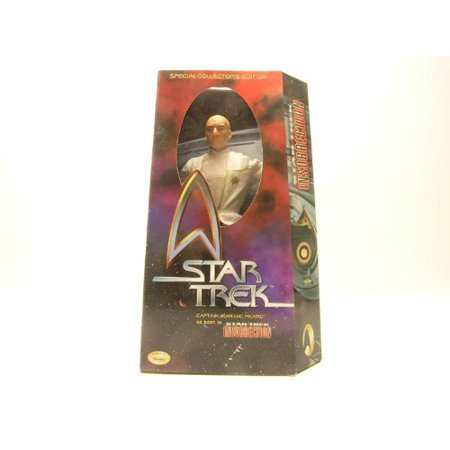 12' Special Movie Collector's Edition Star Trek Captain Jean-Luc Picard in Dress Uniform As Seen in Star Trek: Insurrection Action Figure (Star Trek Captain Jean)