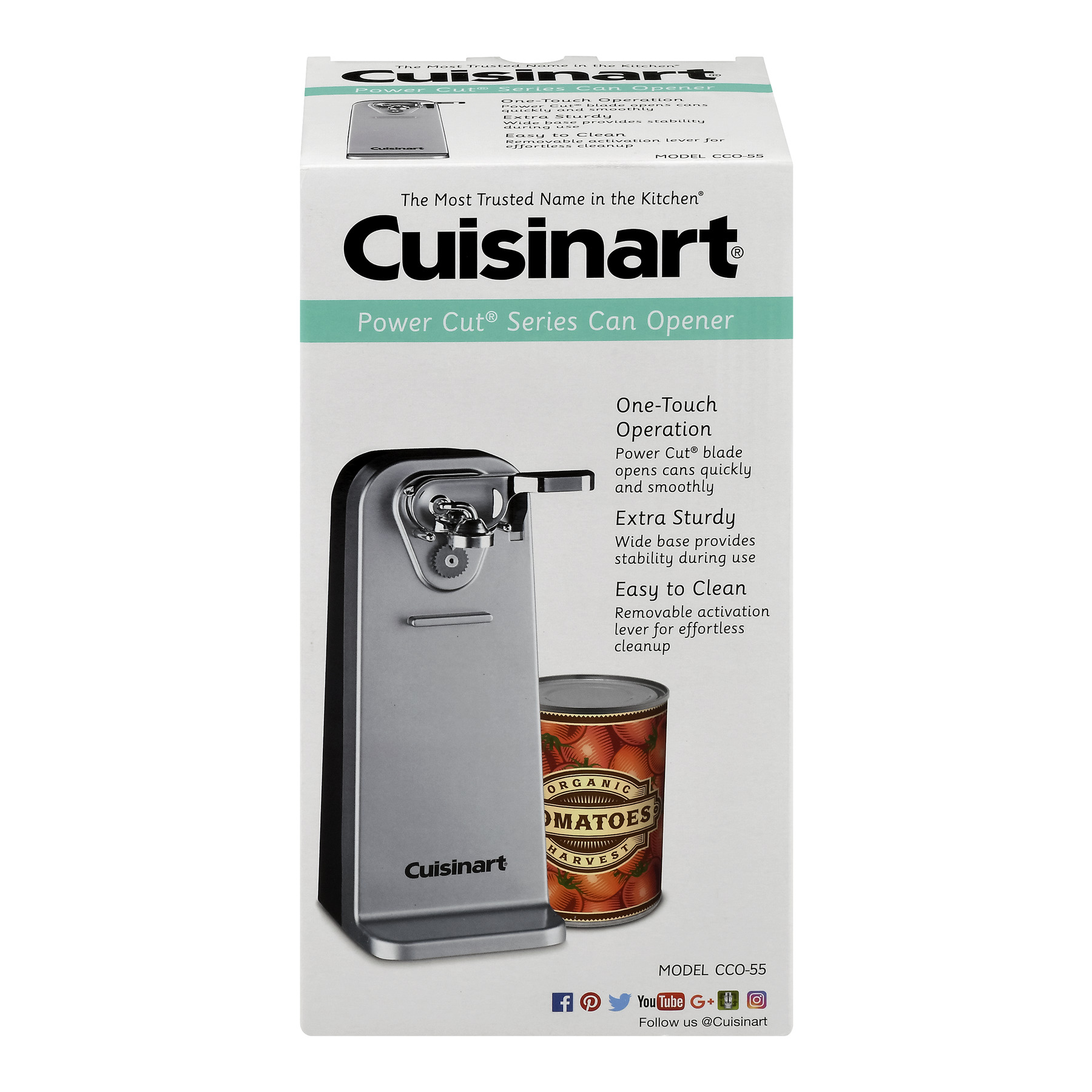 Cuisinart Power Cut Series Can Opener, 1.0 CT