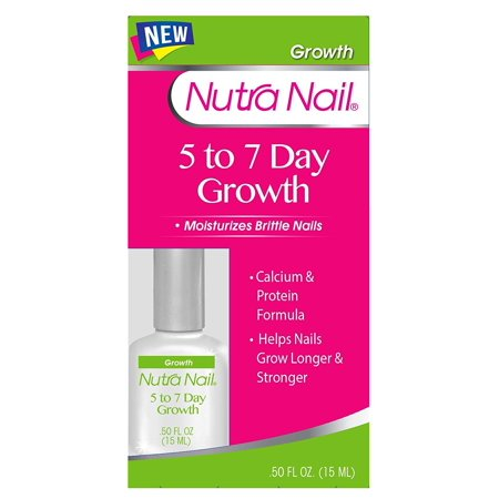 Nutra Nail 5 to 7 Day Growth Calcium Formula, 0.45 Fluid Ounce each