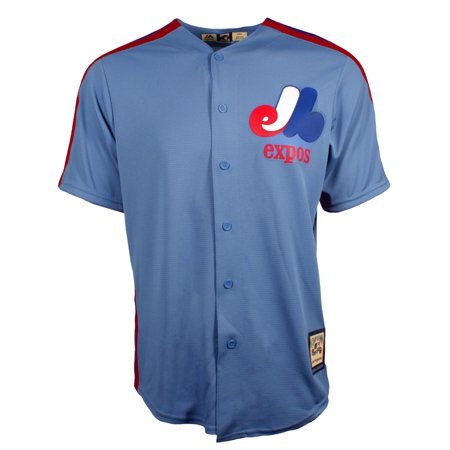 sale retailer 26614 27a00 Montreal Expos Gary Carter Cooperstown Fan Replica Road Cool ...