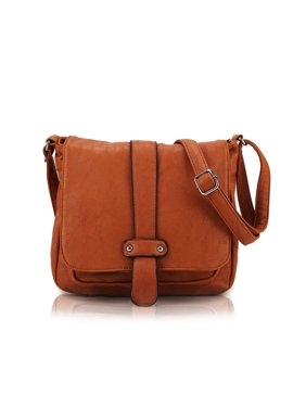 957c3d0e6a93 Product Image Scarleton Accent Strap Flap Crossbody Bag H1539