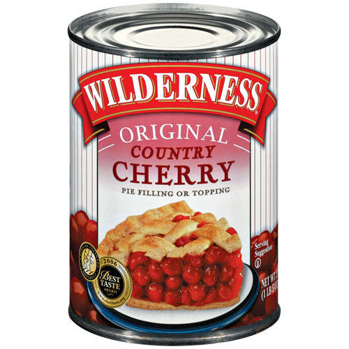 Duncan Hines® Wilderness® Original Country Cherry Pie Filling & Topping 21 oz. Can