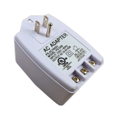 Output Camera Power Supply (16.5V 40W Output Plug in AC Adapter Power Supply for Security Alarms Camera)