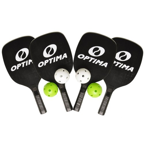 Optima Complete Portable Pickleball and Badminton Starter Set