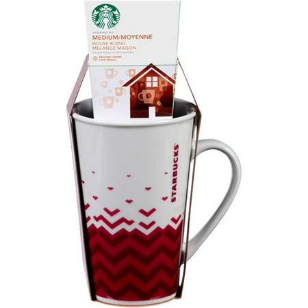 Starbucks Tall Venti Mug With Coffee