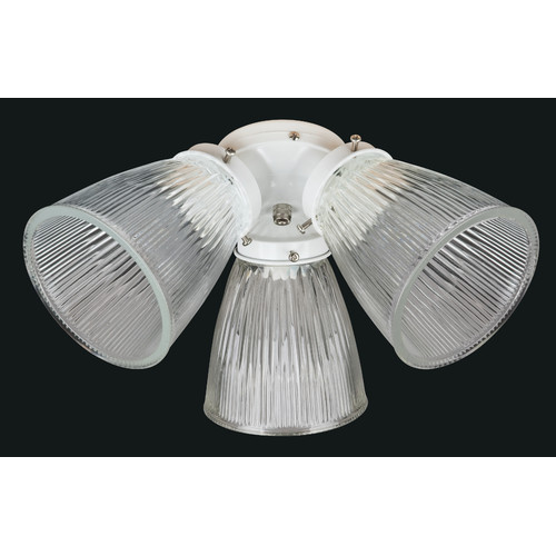 Concord Fans 3 Light Branched Ceiling Fan Light Kit