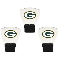 Green Bay Packers 3-Pack Nightlight Bundle - Green - No Size
