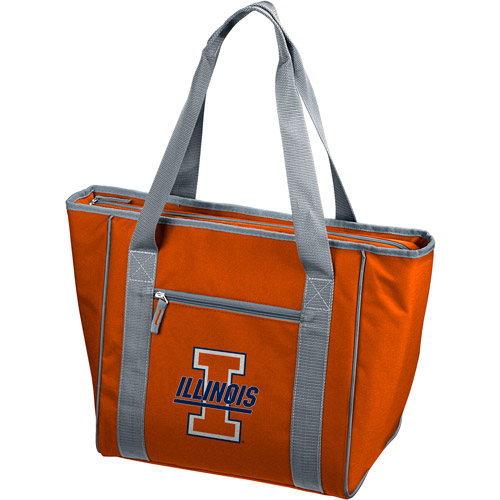 Logo Chair NCAA Illinois 30-Can Tote Cooler