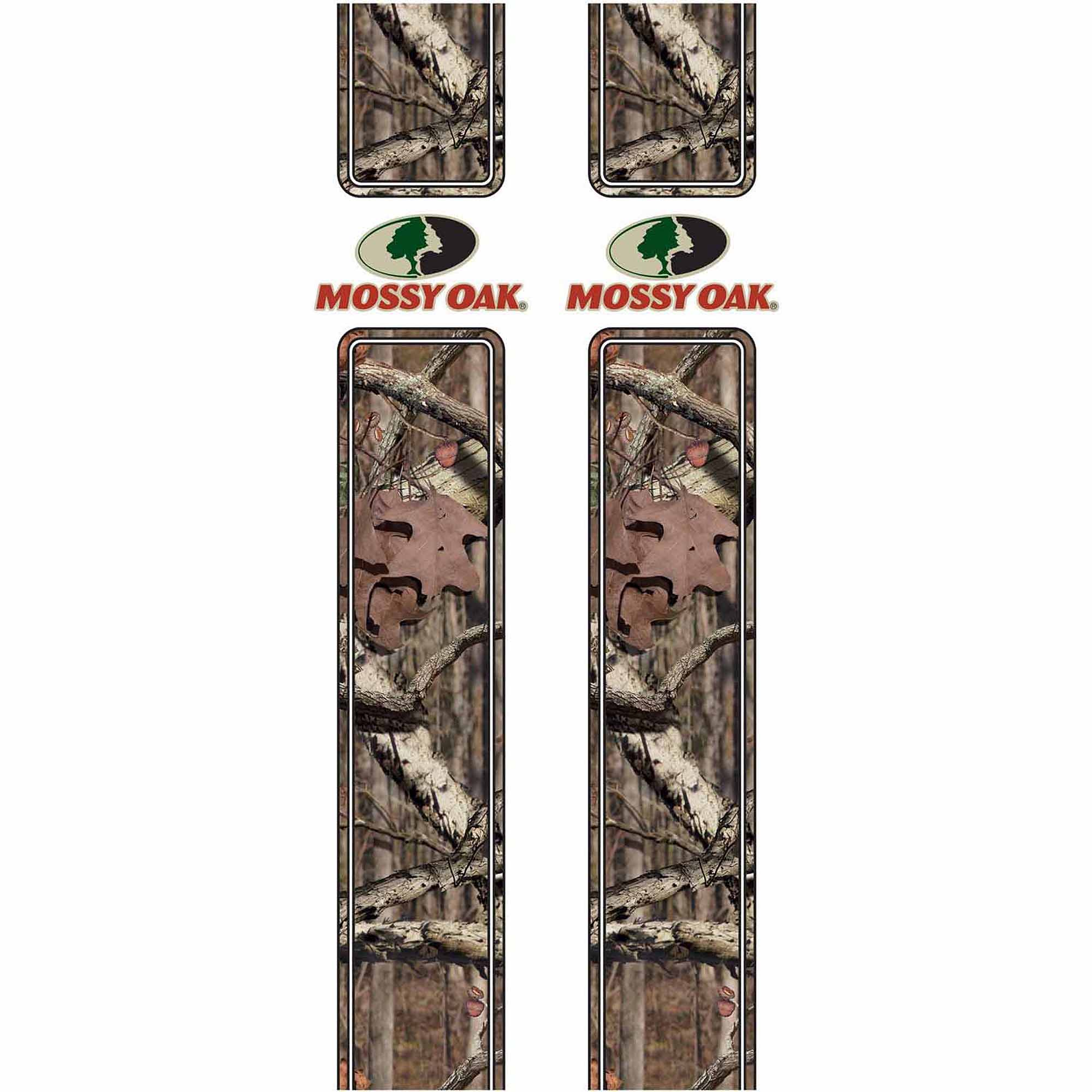 Mossy Oak Graphics 16001-BI Break-Up Infinity Rear Quarter Panel Graphics with Mossy Oak Logo Multi-Colored