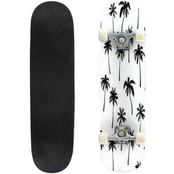 5 x BOY ON SKATEBOARD SKATEBOARDER SILHOUETTE  Die Cuts Quality Black Card