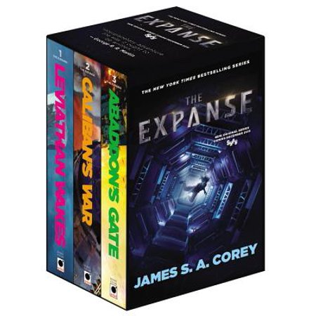 The Expanse Boxed Set: Leviathan Wakes, Caliban's War and Abaddon's (Wolves At The Gate In Your Wake)
