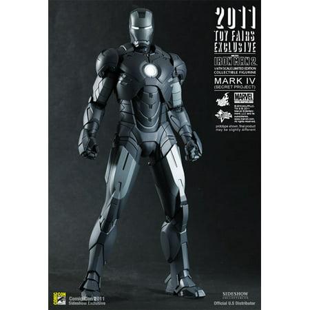 - Hot Toys Iron Man Secret Project Exclusive 1/6 scale action figure