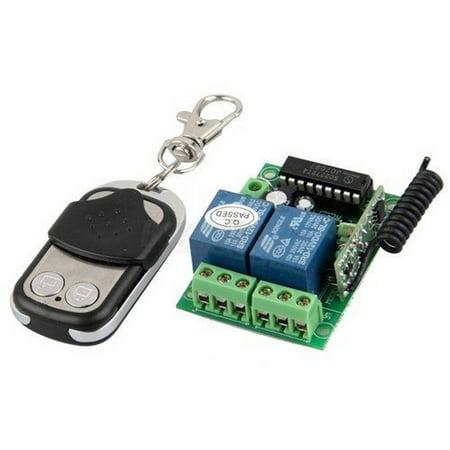 Aleko Universal Gate Garage Door Opener Remote Control Plus Transmitter Walmart Com
