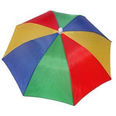 Online Best Service Large Umbrella Hat - Perfect Rainbow Shade To Protect Your Head for Fishing Beach Golf Party For Adults & (Best Lens Color For Fishing)