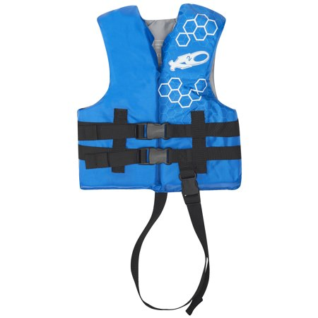 X2O Universal Open-Sided Blue Life Vest for Children 30-50 (Best Swim Vest For 1 Year Old)