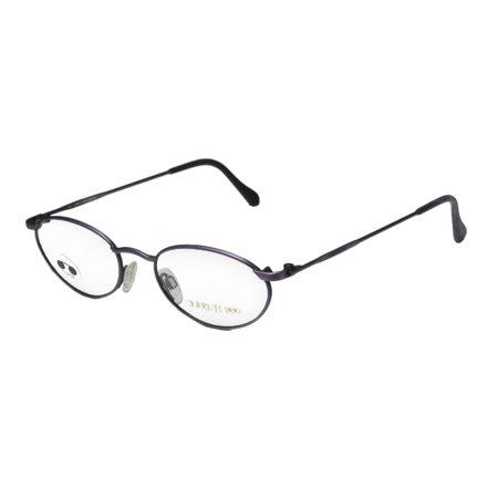 New Cerruti 1881 By Rodenstock C1857 Mens/Womens Designer Full-Rim Purple Vintage Collectable Frame Demo Lenses 48-18-140 Eyeglasses/Eyeglass Frame