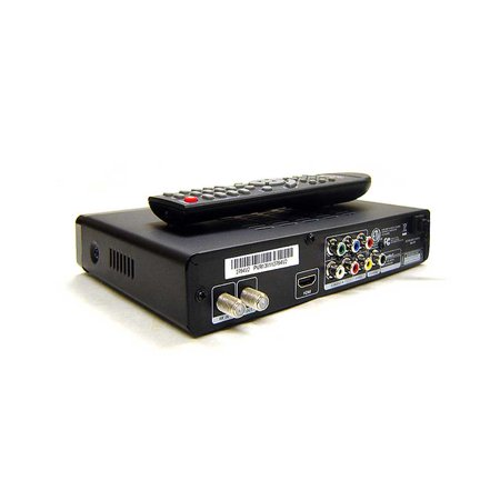Digital 1080p TV Tuner for Over-The-Air Channels with Closed-Caption