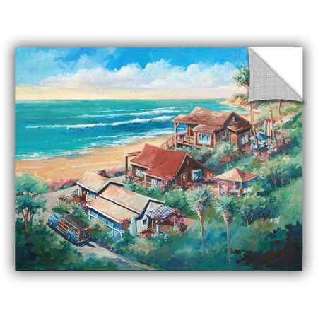"""ArtWall Bill Drysdale """"Above Crystal Cove"""" Art Appeals Removable Wall Art"""