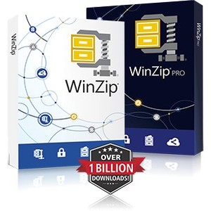 WinZip v.22.0 Standard Box Pack 1 User Compression DVD-ROM Multilingual PC