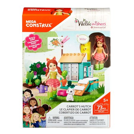 Mega Construx WellieWishers Carrot's Hutch Playset