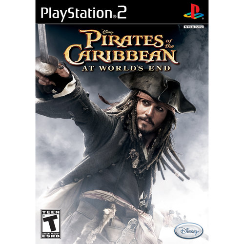 Pirates of the Caribbean: At World's End w/ BONUS Movie Ticket PS2