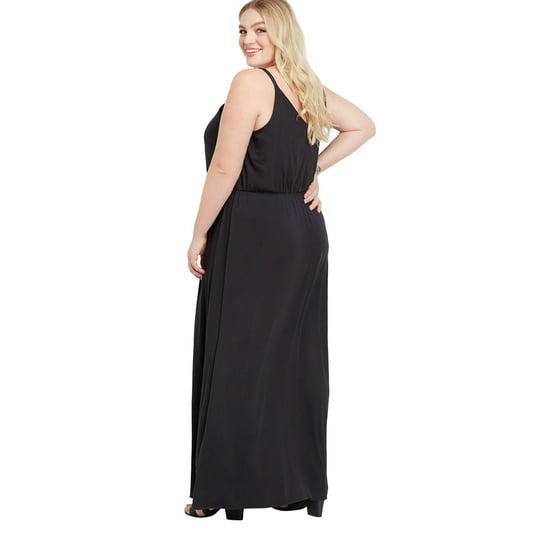 aedea3b0116 maurices - Maurices Lattice Neck maxi Dress - Women s Plus Size 24 7 ...