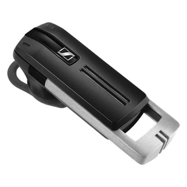 Sennheiser PRESENCE Earset - Mono - Gray - Wireless - Bluetooth - 82 ft - 100 Hz - 15 kHz - Over-the-ear - Monaural - Outer-ear