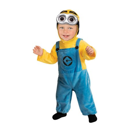 Boy's Minion Toddler Costume (Minion Boy Costume)