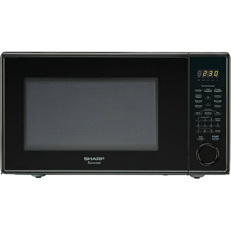 Sharp Carousel 1 3 Cu Ft Microwave Black Walmart Com