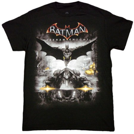 Batman Arkham Knight Adult T-Shirt (Adult Batman Shirt)