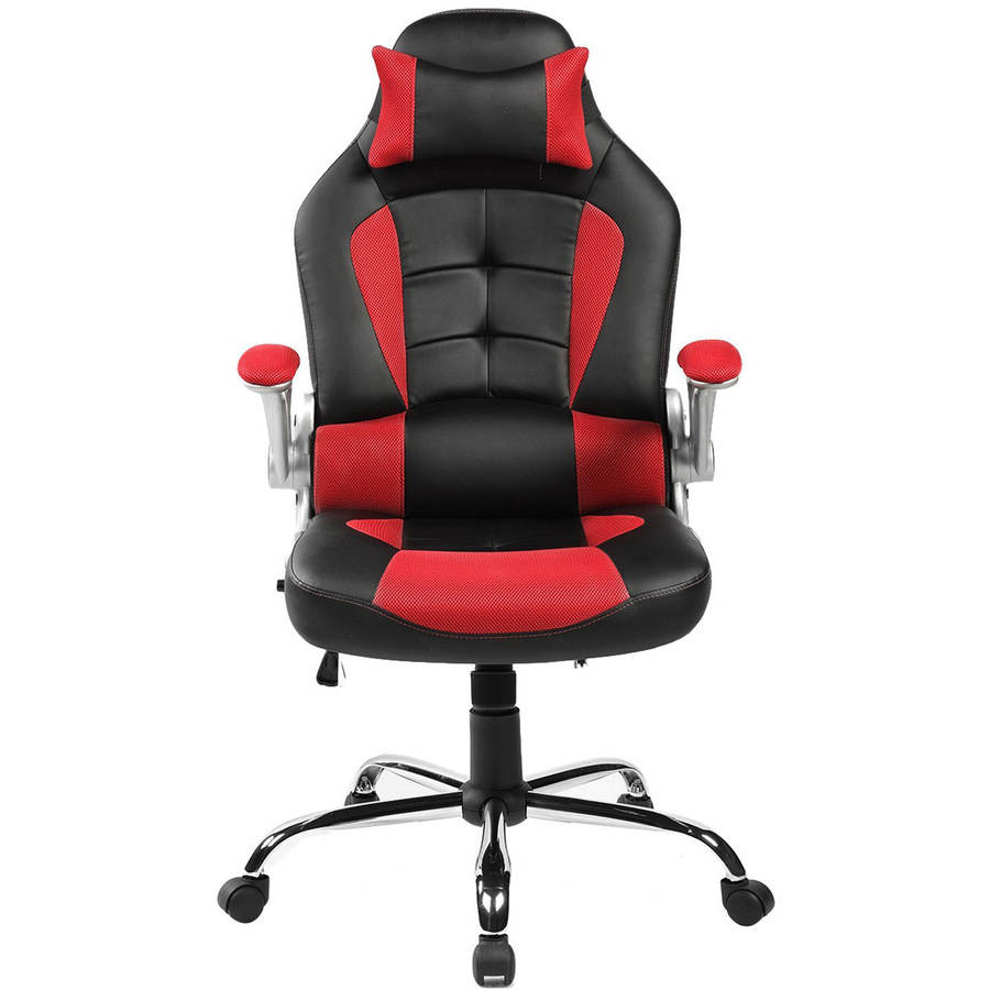 Merax Ergonomic High Back Racing Style Office Chair For Reclining And  Napping   Walmart.com
