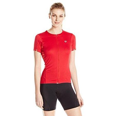 Ride Print Jersey - pearl izumi - ride women's select printed jersey, crimson stripe, medium