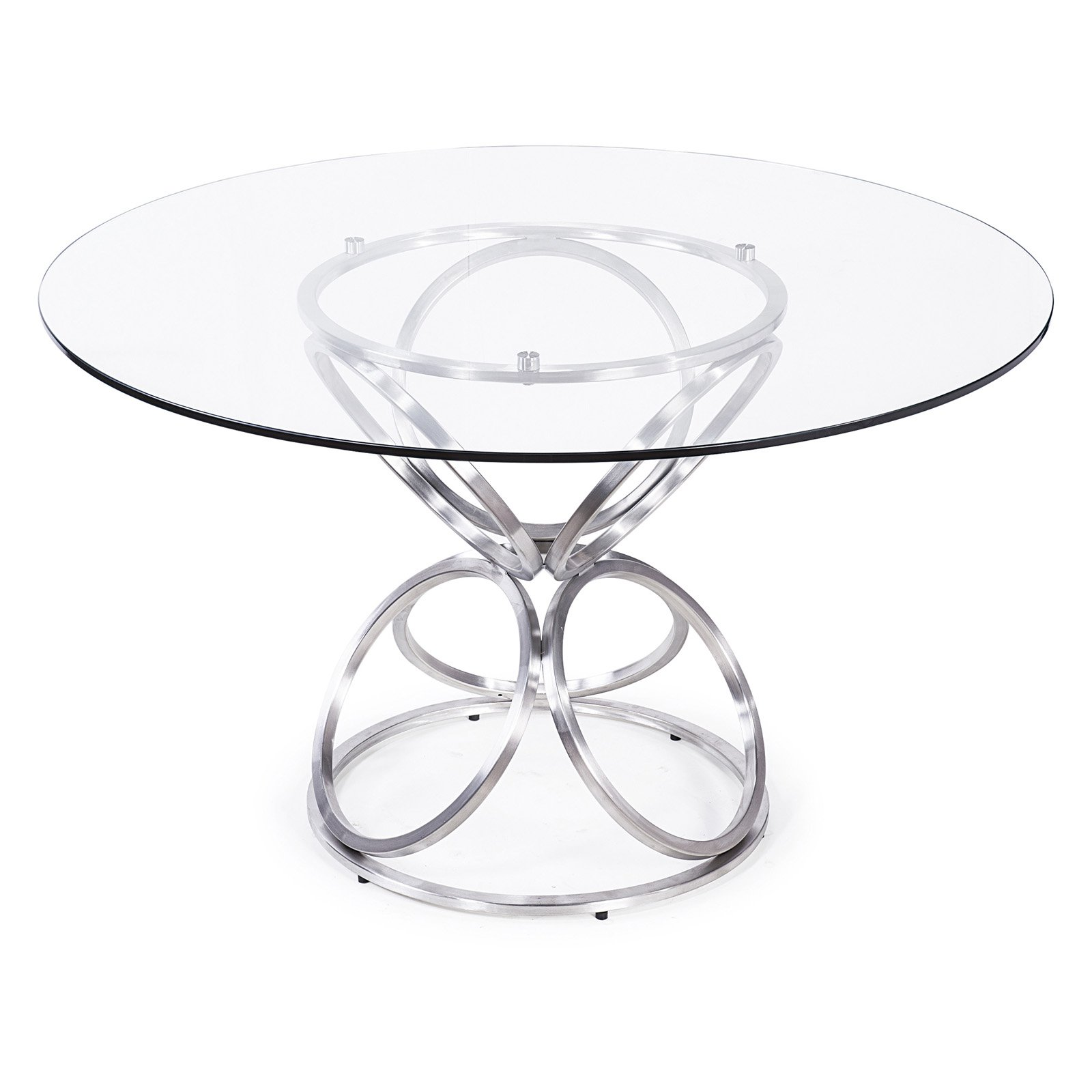 Armen Living Brooke Round Dining Table by Armen Living