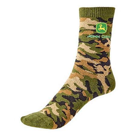 Boys John Deere Camo Socks Size 2T-4T](Camo Stuff For Boys)