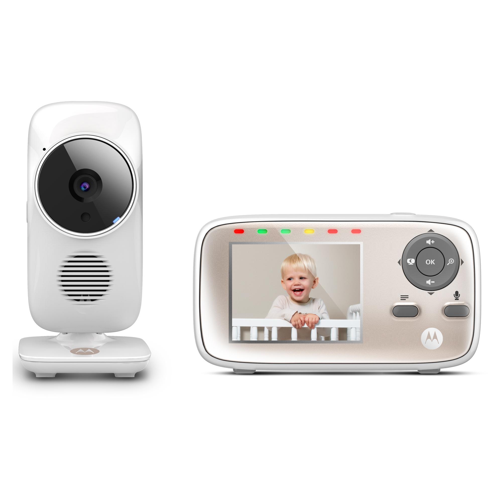 "Motorola MBP667Connect, Wi-Fi Video Baby Monitor, 2.8"" Monitor"